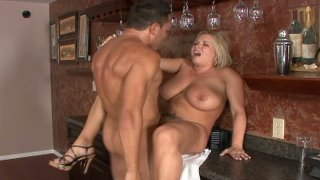 Fat and sexy blonde Rachel Love loves all styles of sex image
