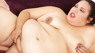 Fat and horny BBW rides a_long stiff cock image