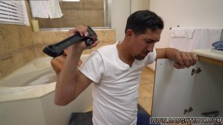 Homemade teen ass creampie Lexy Bandera get's her pipes cleaned by a image