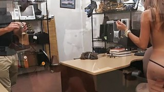 Big tits latin chick fucked by pawn guy at the pawnshop image