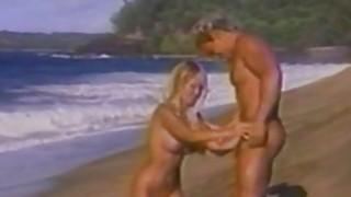 Image: Kascha Busty BombShell Having Sex On The Beach
