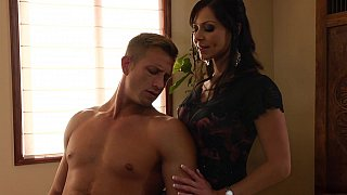 Too horny cougar Kendra Lust image