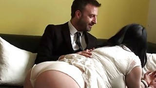 Image: Busty MILF Harley Sin gets her mouth and pussy fucked hard
