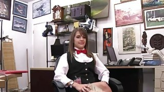 Hot Card Dealer Is Willing To Deal Her Pussy In The Pawn shop image