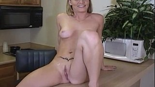 Very cute blonde having sex in_office image