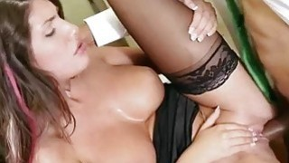 Huge boobs babe in glasses toilet fuck image