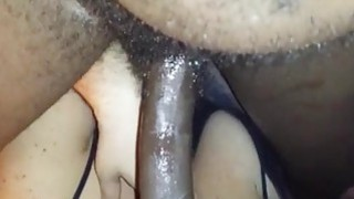 Black man gets perfect blowjob from his white girl image