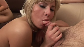 Karolina & Lucia & Susie in group sex action with young skinny_porn girls image