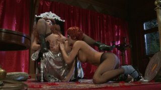 Nicki_Hunter_and_Alektra_Blue_in_a_freaky_dildofuck_show image