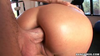 Anal sex session of gorgeous blonde cutie Trina Michaels image