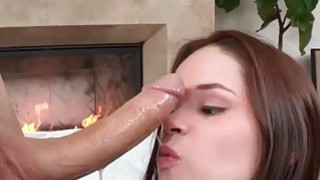 Cutie Jenna Rose wanted to cum in a large meaty dick image