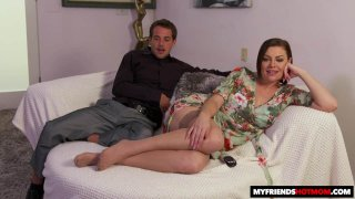 Sovereign Syre Lends Her Pussy To Her_Son's Friend image
