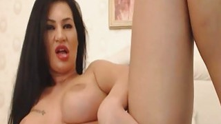 Super Hot_Babe Dildoing And Fingering Her Pussy image