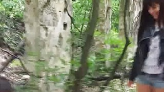 Image: Foursome fuck party in forest