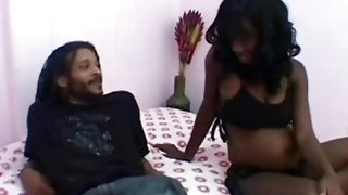 Ebony pregnant girl fucking friend image