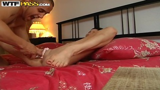 Yulia in a Romantic couple sex scene with creams image