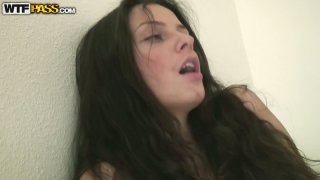 Two girls kendra and sabinna are fucked by a single guy - two girls dance nude with gay guy image