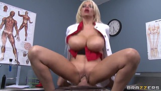 Amazing MILF Holly Brooks sucking and fucking with a young guy image