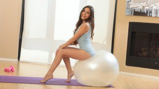 Arielle Faye in Yoga Babe - NUBILES image