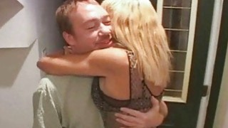 Blonde Trophy Wife_Fucked by Two_Cocks image