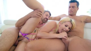 Layla Pryce gets fucked by Ramon Nomar and Steve Holmes image