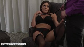 Krissy Lynn Becomes A Submissive Sex Toy For Her Client image