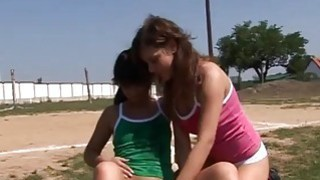 Hot_teen_girl_speedo_modeling_movie_Sporty_teenagers_gobbling_each image