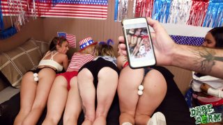 hard core fucking • Fourth of july party requires lots of hard pussy fucking image