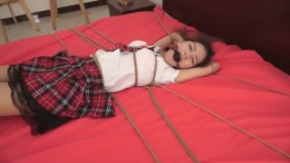 Rated chinese teen penetration ⁃ Bondage tickle chinese cute school girl image