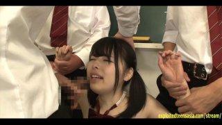 Jav Idol Yamakawa Yuna Bullied And Fucked In Class image