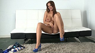Black Angelica gets fucked in doggy style image