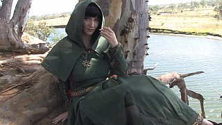 Elf beauty and her hot feet image