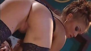 Rita Faltoyano in a hot threesome image
