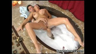 A plumber fingerfucks the wet pussy of_horny housewife Teri Weigel image