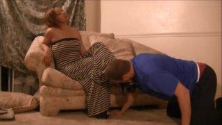 Ebony Foot worship image