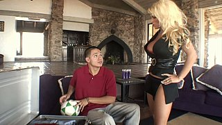 Blonde mom gets drilled by_her step-son image