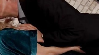 Old mature couple first time Jennys social worker is visiting her image