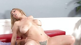 Cock eager mature with_saggy tits gets doggy style image