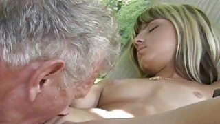 Teen Step Sister Masturbating fucks_Old man image