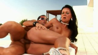 Palatable babe Suzie Diamond gets her asshole drilled in an_awesome sex video image