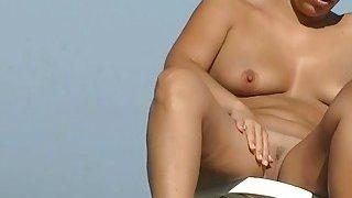 Image: Sexy amateur hidden beach cam video on the nudist beach