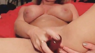 Babe With Perfect Body Enjoys Solo Masturbation image