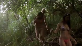 Badass_lusty_babes_shows_boobs_boar_hunting_and_sky_diving image