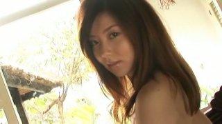 Angelic Japanese chick China Fukunaga has_a big juicy ass image
