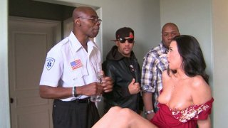 Honey White gives a handjob and gets her pussy polished image