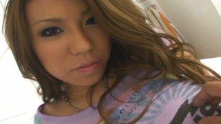 Pov video with seductive oriental chick Romihi Nakamura image