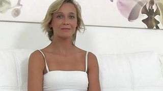 Czech blonde waitress fucks_in casting image