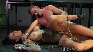 BDSM XXX Feisty slave girls learn the hard way image