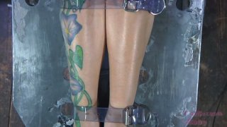 Sexy blonde Rain DeGrey looks disgusting when tied_and gagged image