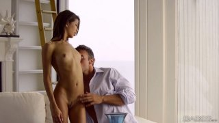 Ardent blowlerina Veronica Rodriguez sucks and rides a cock well image